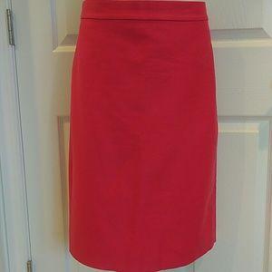 JCrew No2 Long pencil skirt